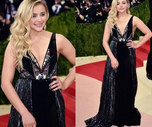 beautiful, chloe moretz, and met gala image