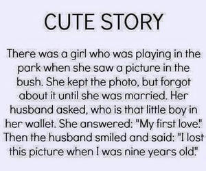 cute, love, and cute story image