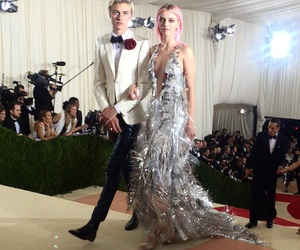 met gala, dress, and lucky blue smith image