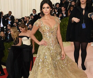 Nina Dobrev, met gala, and actress image