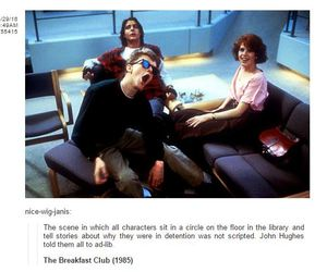 movie, The Breakfast Club, and did you know that image