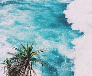 beautiful, sea, and waves image