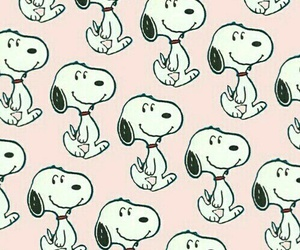 wallpaper, snoopy, and patternator image