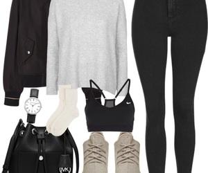 celeb, heels, and leather image