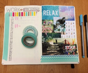 Collage, colorful, and exercise image
