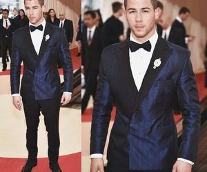nick jonas and met gala image