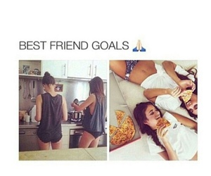 goals, friends, and bff image