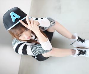 fashion, ulzzang, and cap image
