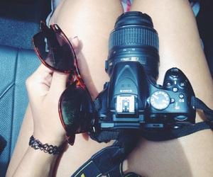 camera, nikon, and photo image