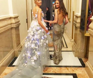 dress, gown, and Karolina Kurkova image