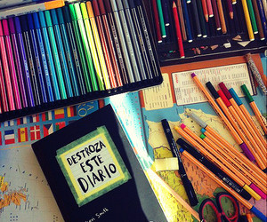 art, stabilo, and wreak this journal image