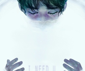 bts, kpop, and i need u image