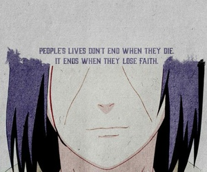 itachi, naruto, and quotes image