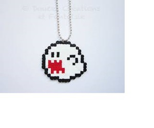 beads, mario, and boo image