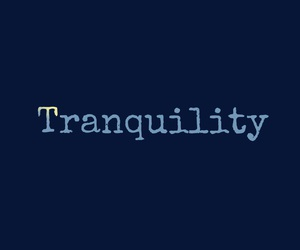 peace and tranquility image