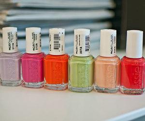 colorful, colors, and nailpolish image