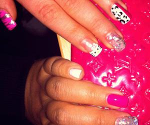 barbie, hands, and hello kitty image