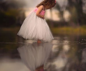 child, girl, and tulle image