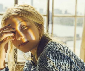 blonde, flawless, and eyes image