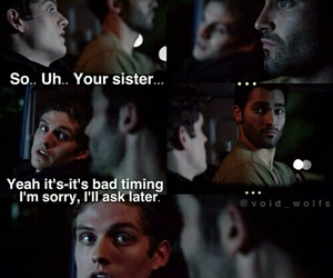 teen wolf, derek, and funny image