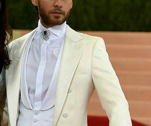 30 seconds to mars, met gala, and jared leto image