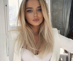 blond, white, and hairgoal image