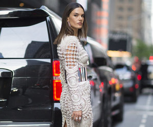 alessandra ambrosio, Balmain, and fashion image