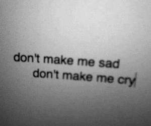 sad, lana del rey, and cry image