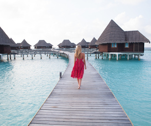 happiness, Maldives, and summer image