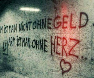 heart, geld, and sprüche image