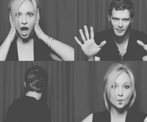 the vampire diaries, klaus, and candice accola image
