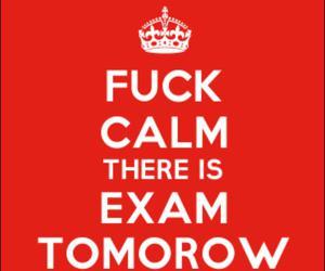 calm, exam, and keep calm image