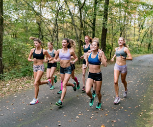 nike, running, and triathlon image