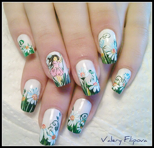 Final Fantasy Nail Art