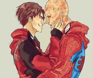 deadpool, spiderman, and cute image