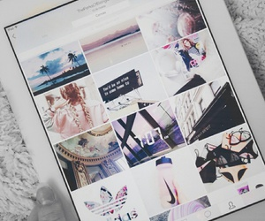 we heart it, ipad, and app image