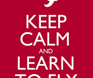 foo fighters, keep calm, and fly image