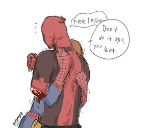 spiderman and deadpool image