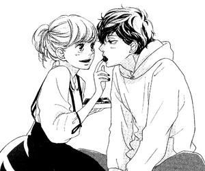 manga, anime, and ao haru ride image