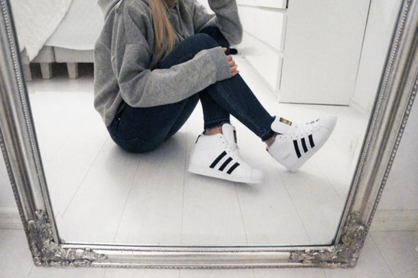 sneakers for girls tumblr - Google Search on We Heart It