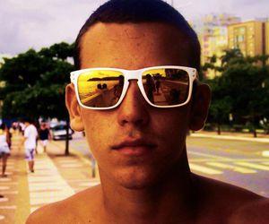 glasses, oakley, and sea image