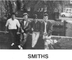 the smiths, smiths, and black and white image