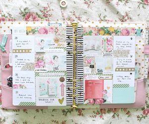 caderno, notebook, and planner image