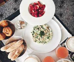 food, drink, and breakfast image