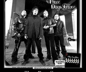 band, three days grace, and barry stock image
