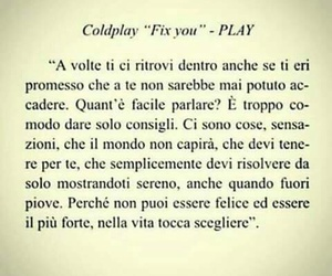 coldplay, play, and frasi italiane image