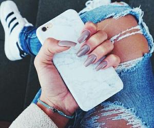 nails, adidas, and iphone image