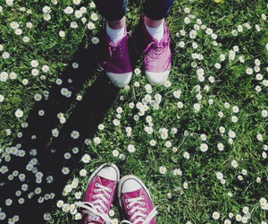 chaussures, converse, and ete image