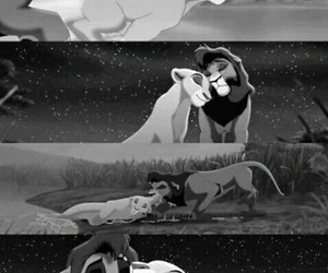beauty, disney, and the lion king image