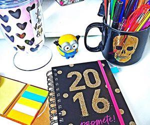 2016, cute, and agenda image
